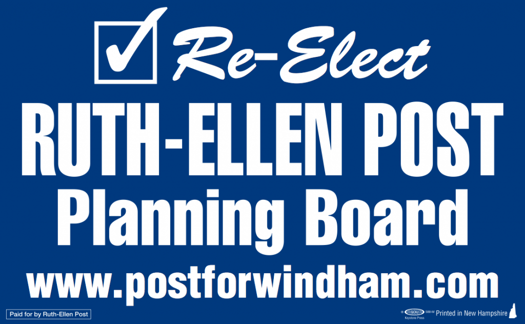 Post for Planning Board Windham NH
